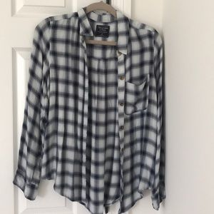 Barely worn flannel